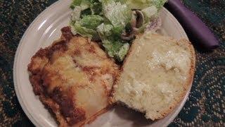Lasagna! Volfies Birthday Dinner by Request!