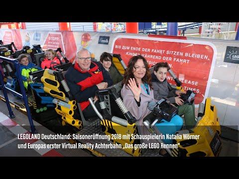 LEGOLAND Deutschland: Saisoneröffnung 2018 mit Natalia Wörner & Das große LEGO Rennen