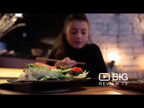Murakami Japanese Restaurant In Covent Garden London Serving Sushi, Sake And Cocktail Drinks