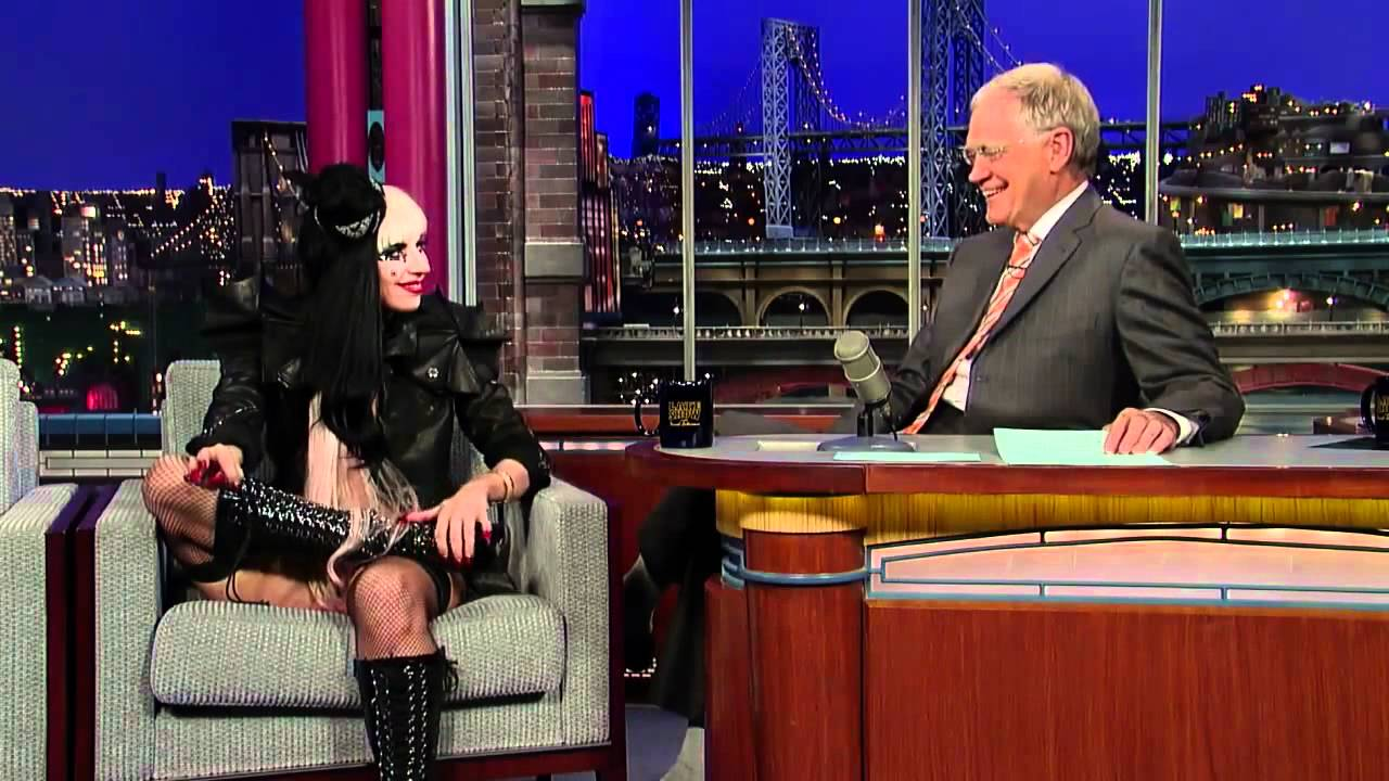 Lady Gaga Interview David Letterman HD YouTube