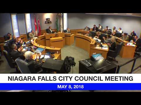 May 8, 2018 City Council Meeting