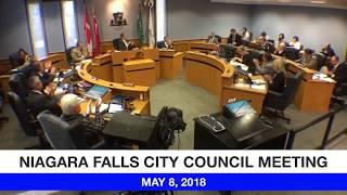 May 8, 2018 City Council Meeting