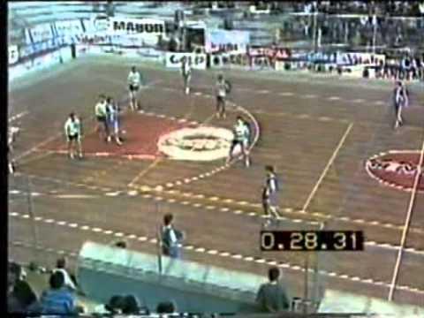 Andebol :: 04J :: Porto - 22 x Sporting - 18 de 1986/1987 - 2 Fase