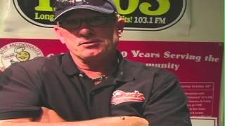 We Meet Former Baseball Hall-of-Famer Gary Carter at the B-103 Radio Studios