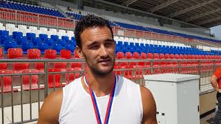 Олимпийский чемпион Александр Дьяченко чемпион России 2018 на байдарке-двойке 200 м и 2-ой-К-4 500 м