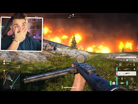 Battlefield 5 Battle Royale Is AMAZING.. (Firestorm)
