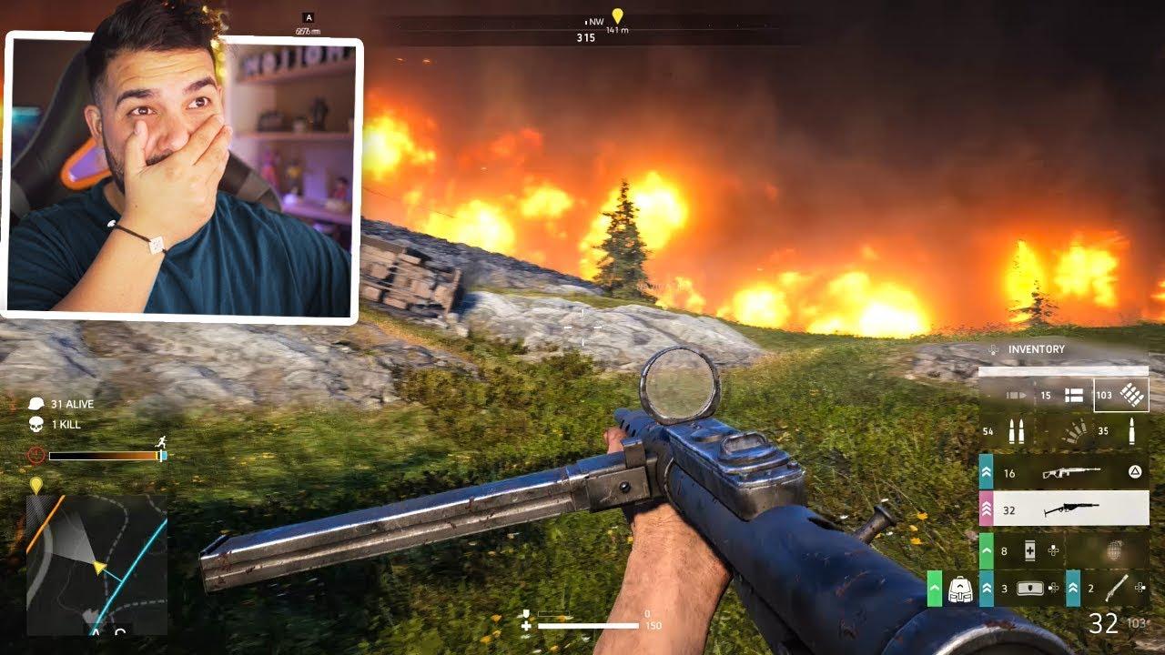 Battlefield 5 Battle Royale is AMAZING   (Firestorm)