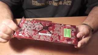 видео Видеокарта asus n13219 (d33005)