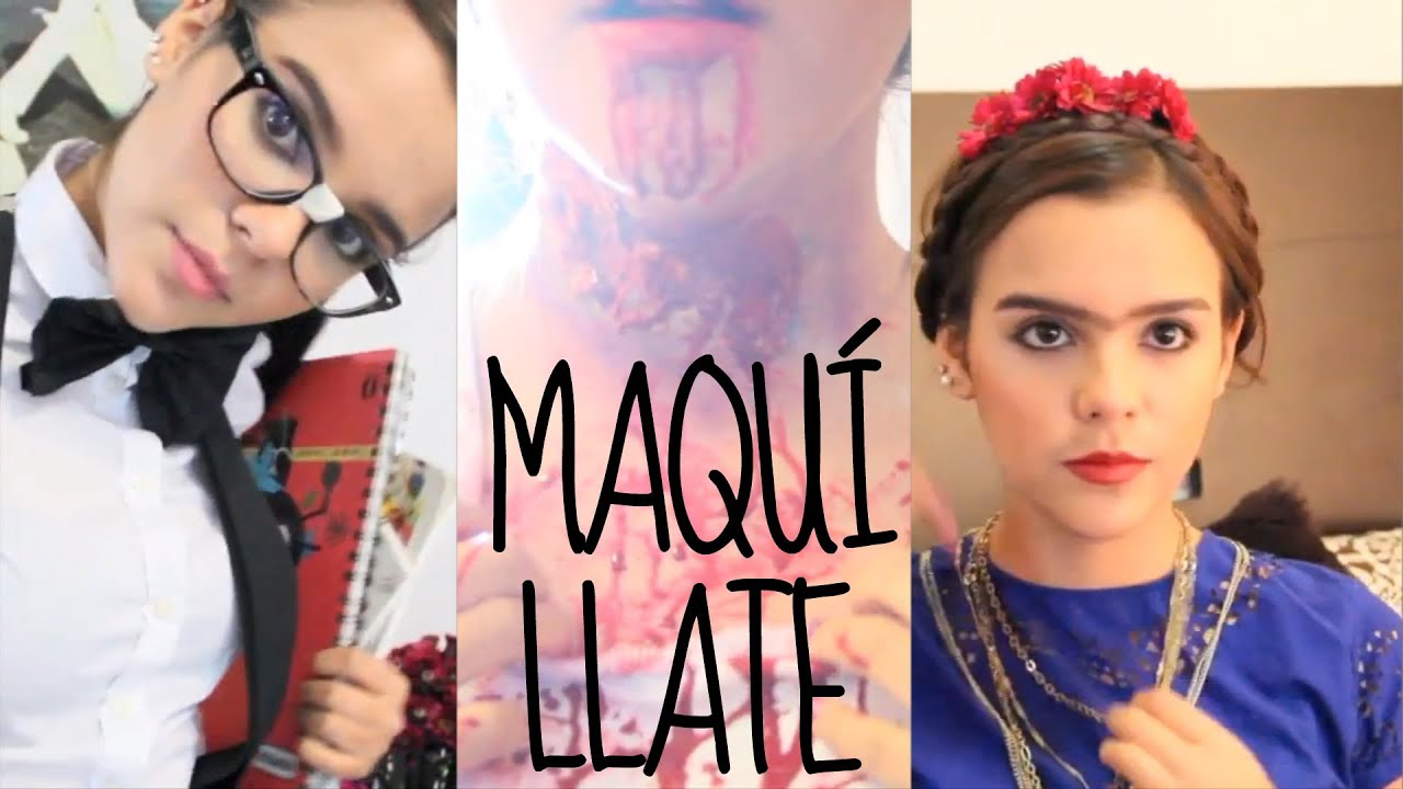 3 Maquillajes faciles para Halloween YouTube