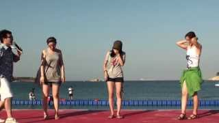웃긴동영상 나이트댄스 카바레춤 기발한배콘테스트 2012울산조선해양축제 일산해수욕장  by  bjs380380