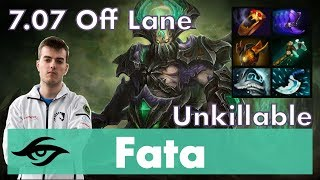 Fata Underlord Offlane | Tough Lane Victory | 7.07 Update Patch Dota Gameplay Pro MMR