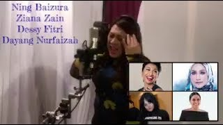 Idayu af tiru suara Penyanyi Ning Baizura / Ziana Zain / Dessy Fitri / Dayang Nurfaizah😱pergh sama