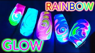 glow in the dark nails