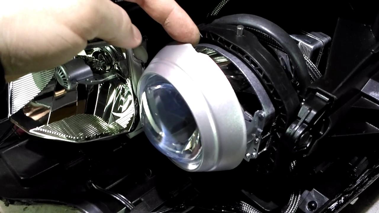 Ремонт фар Mercedes-Benz C-classe W204