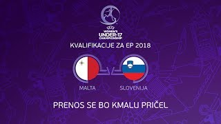 Malta U17 vs Slovenia U17 full match