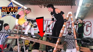 Championship Ladder Bridge TLC Challenge! GTS Wrestling PPV Event