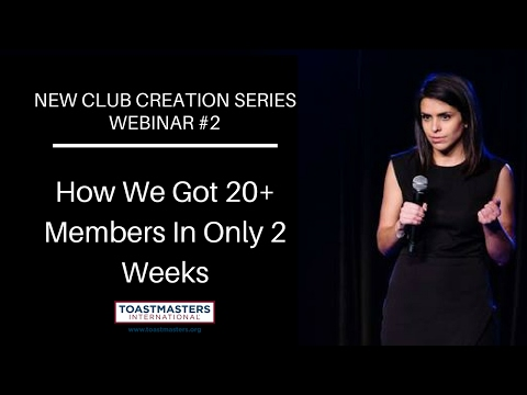 How We Got 20 Members In Only 2 Weeks