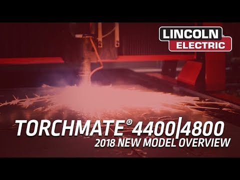 2018 Torchmate 4400 and 4800 CNC Plasma Cutting Tables - New Model Information