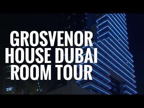 Grosvenor House Hotel Dubai Premier Room Tour   Kate Stutter