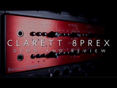 Focusrite Clarett 8PreX | Demo and Review w/ Orlando Drummer
