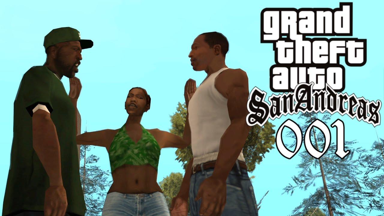 GTA San Andreas #001 ? Deutsch 100% ∞ Intro | Big Smoke | Sweet & Kendl ∞ Let's Play Gameplay German thumbnail