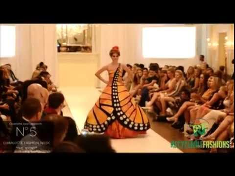 Recycled Fashion designs - creative recyclable clothing design contest