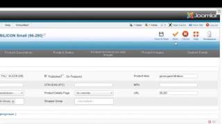 كيفية إنشاء VirtueMart 2.X سمة مخصصة المكونات في المنتج متعددة القائمة المنسدلة