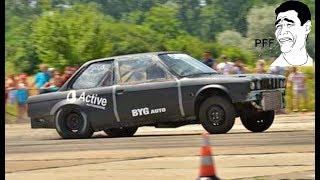 Bmw E30 2.5 Turbo 550 HP vs Bmw E30 Turbo - Drag Race Ianca 2017 by Alex Buzoianu Photo