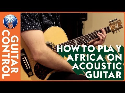 How to Play Africa on Acoustic Guitar