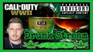 Call Of Duty WWII! Whiteboy Wasted Live DRUNK Stream! ( Grown Folks Drinking And Gaming )