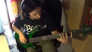 Cryptopsy - Slit Your Guts (BASS COVER)