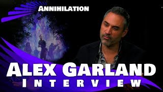 ANNIHILATION - ALEX GARLAND INTERVIEW