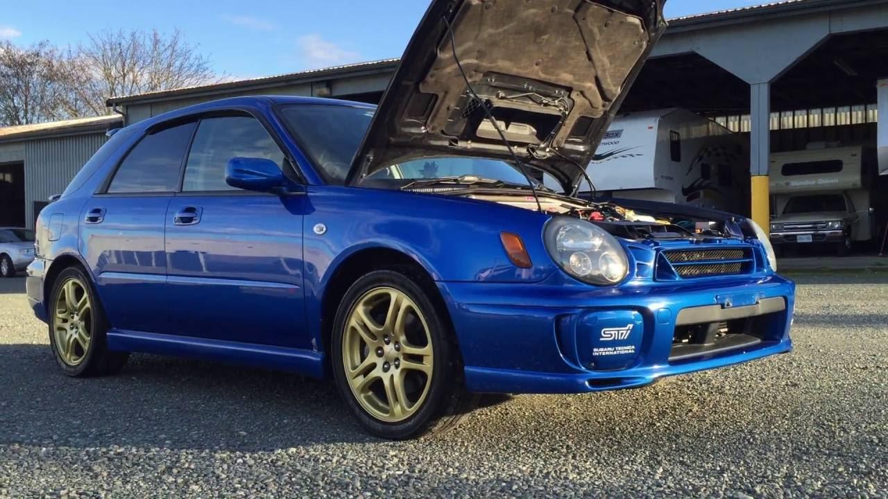 2000 Subaru Impreza STI GGB Hatch Back, 6 Speed Manual JDM RIGHT HAND DRIVE  TURBO