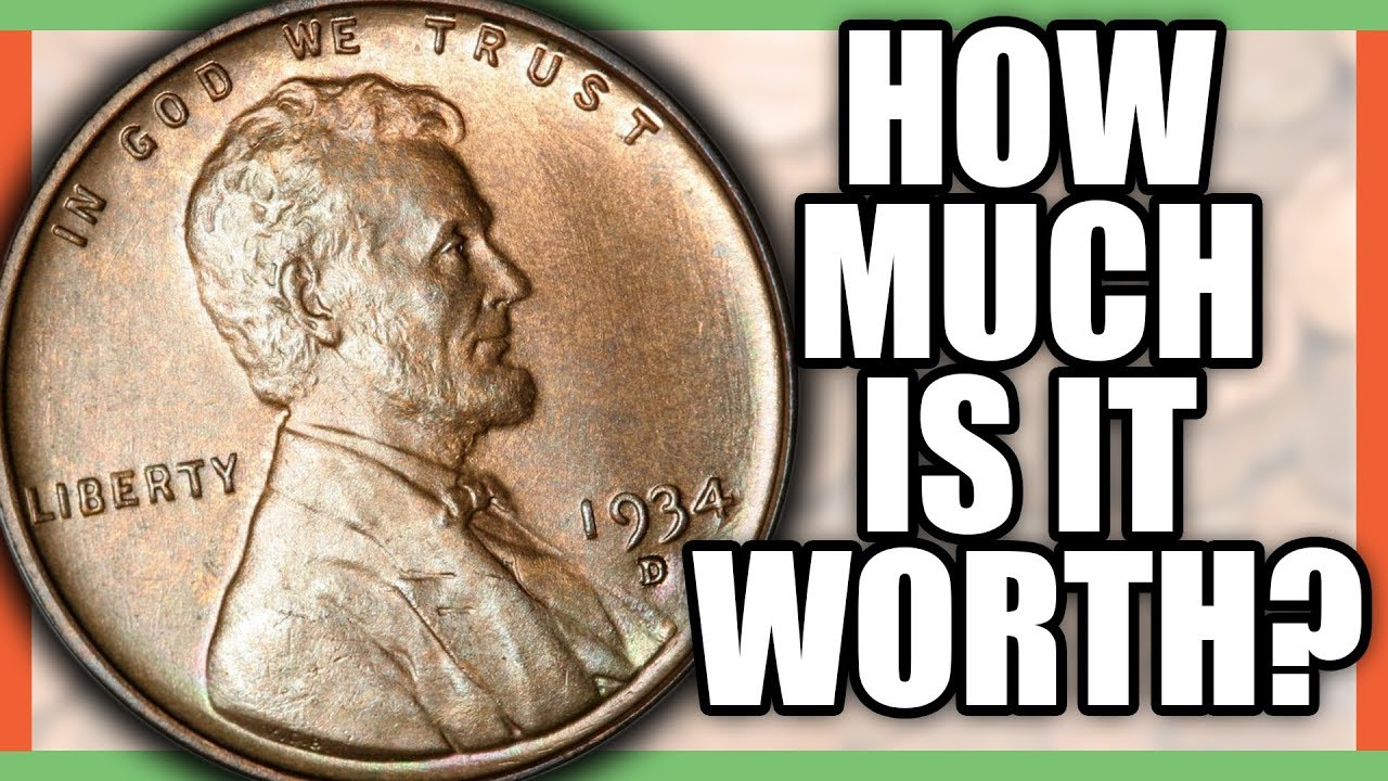 1934 PENNY VALUE - WHAT IS A RARE PENNY WORTH?