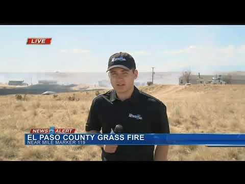 El Paso County Grass fire
