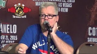 FREDDIE ROACH EXPLAINS WHAT WENT WRONG IN THE CANELO COTTO FIGHT