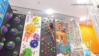 元体操選手の岡部紗季子さんがクライミングにチャレンジ! 規格外の柔軟...