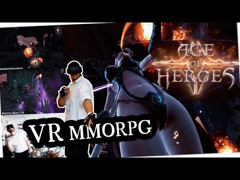 DESTROY YOUR ENEMIES! | Age of Heroes VR MMORPG