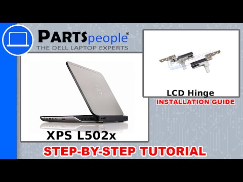Dell XPS 15 (L502X) LCD Hinge How-To Video Tutorial