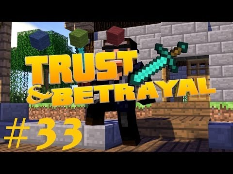 Minecraft Trust and Betrayal #033 - Whiter Boos fight ★Let's Play Minecraft★
