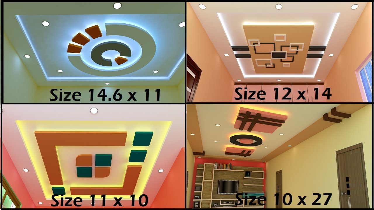 Stunning Living Room And Bedroom Ceiling Designs Ceiling For Living Room Size 10x27 Youtube