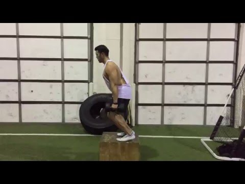 Improve Vertical Jump with Weighted Box Jumps and Depth Drops
