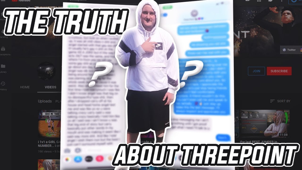 THE TRUTH ABOUT THREEPOINT... Must watch smh - THE TRUTH ABOUT THREEPOINT... Must watch smh