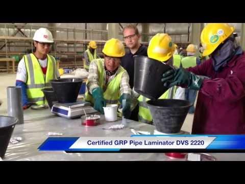 "SKZ Training On-Demand: ""Certified GRP Pipe Laminator DVS-2220"""