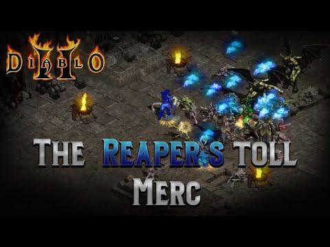 Diablo 2 - The Reaper Merc: Powerful + Budget