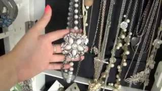 Fashion Friday: My Jewelry Armoire
