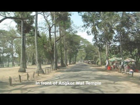 Travel Around Siem Reap Angkor in Cambodia