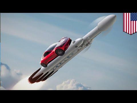 Falcon Heavy: SpaceX to launch Elon Musk's car onboard powerful Falcon Heavy rocket - TomoNews