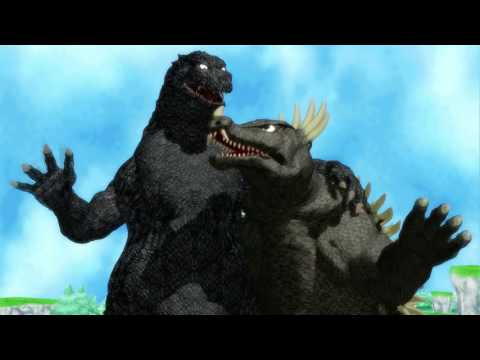 MMD Godzilla The Anguirus Song
