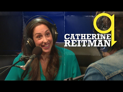 Catherine Reitman talks about being a Workin' Mom and having Ivan Reitman on set